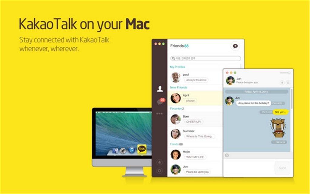 KakaoTalk Messenger Mac image 3