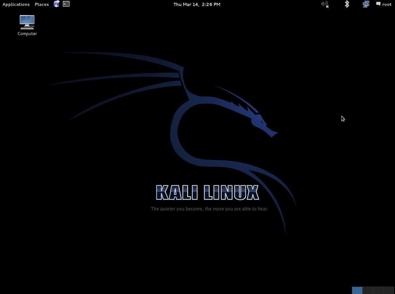 Kali Linux Linux image 4