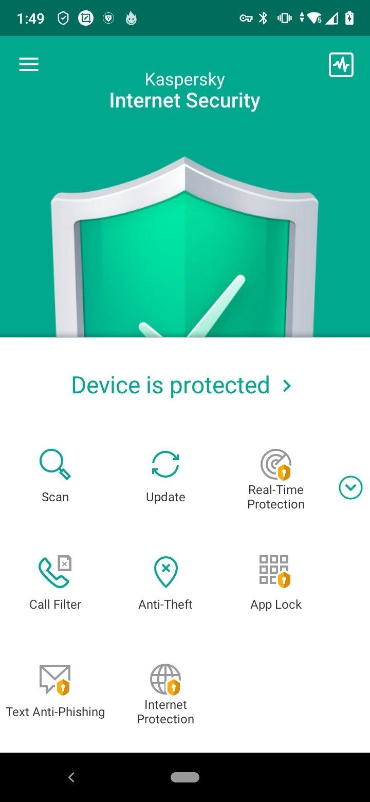 kaspersky internet security mobile apk