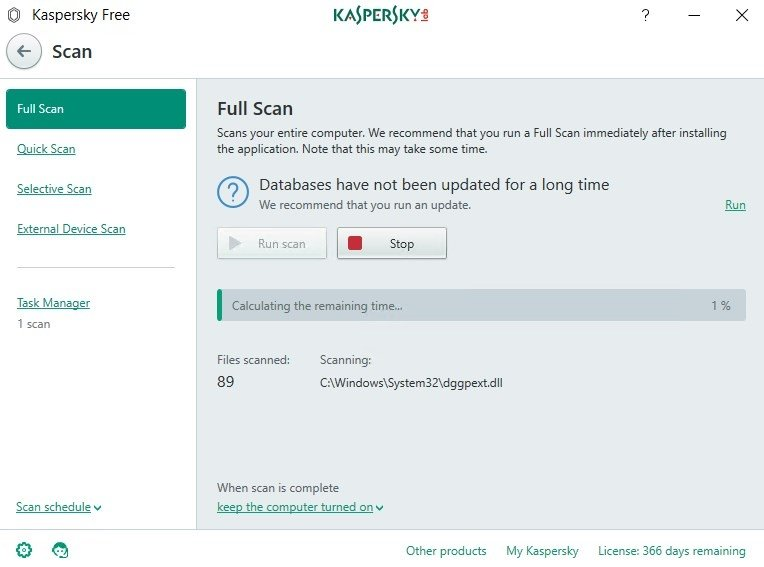 Kaspersky Free Antivirus 19 0 0 1088 0 1634 - Download for PC Free