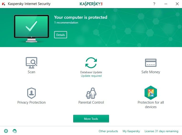 Kaspersky Internet Security image 8