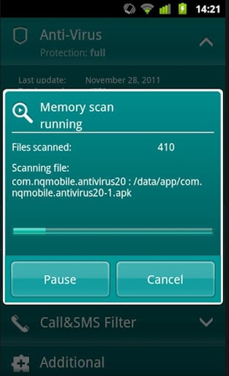 Kaspersky Mobile Security Android image 7