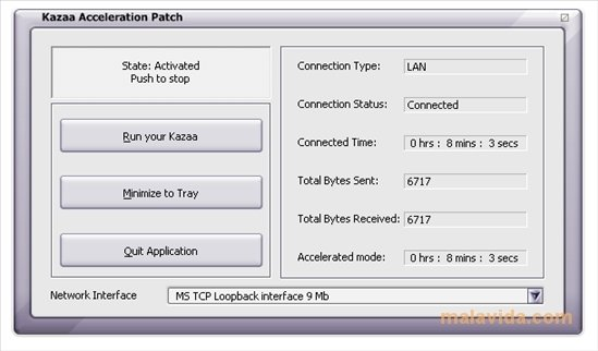 Kazaa Acceleration Patch image 2