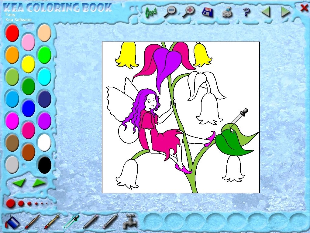 Download Kea Coloring Book 37 For PC