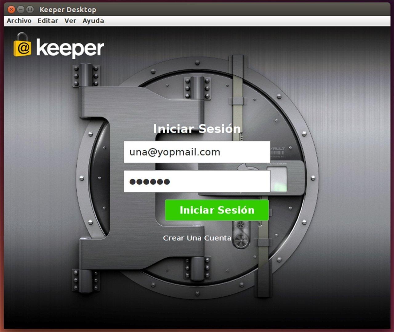 Keeper Linux image 6