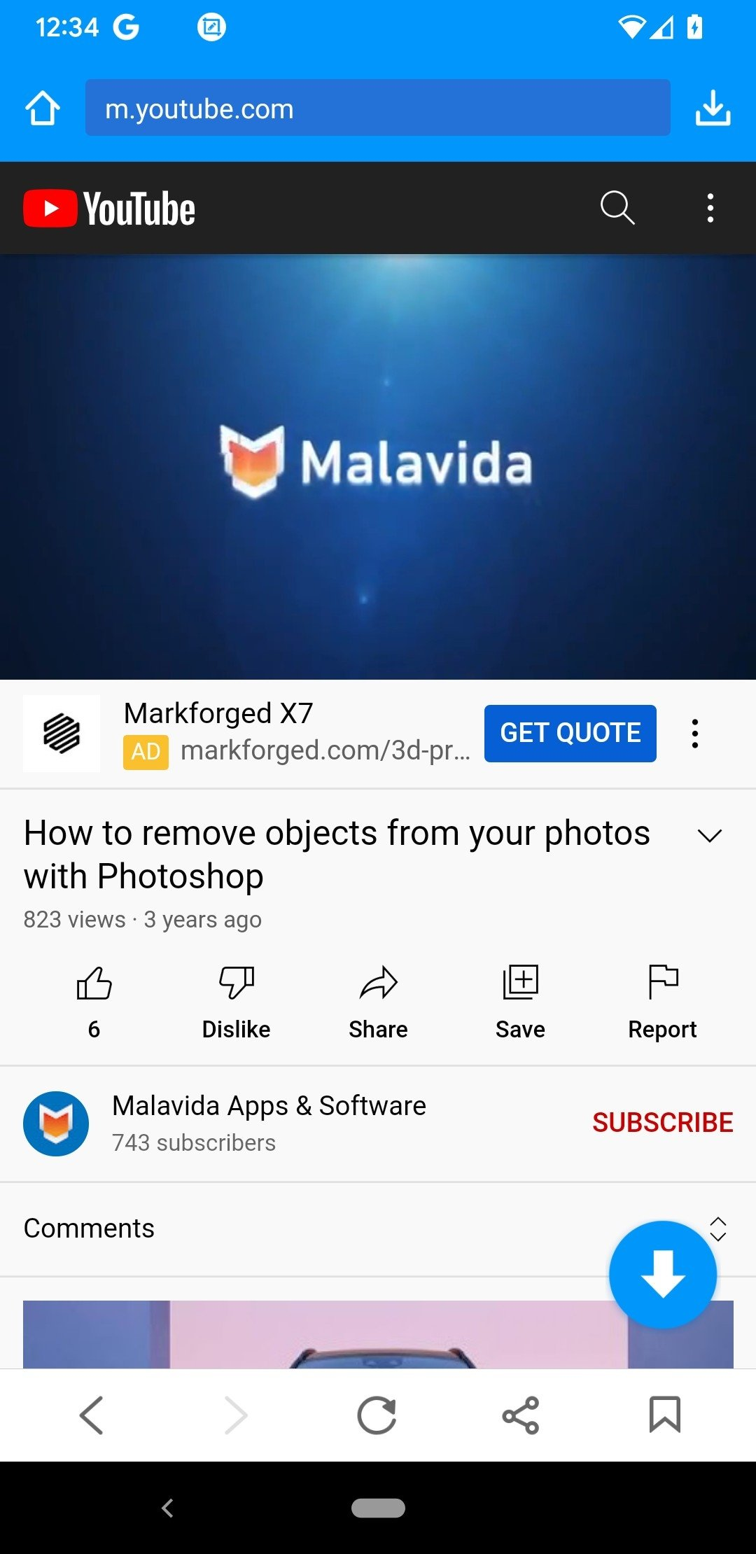 KeepVid Android image 5