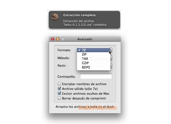 Keka 1 1 15 - Download for Mac Free