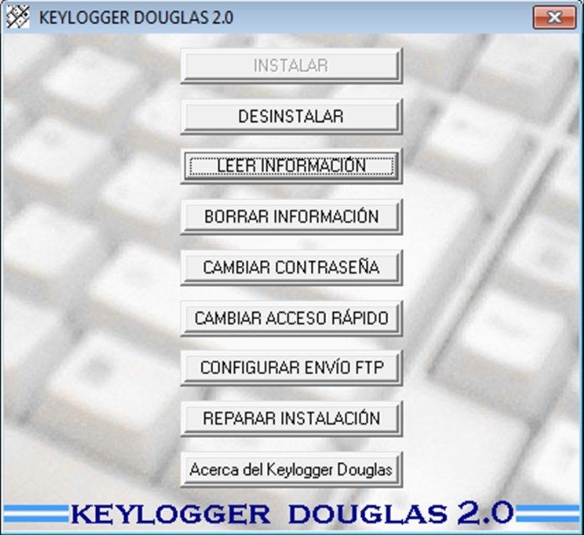 Keylogger Douglas image 5