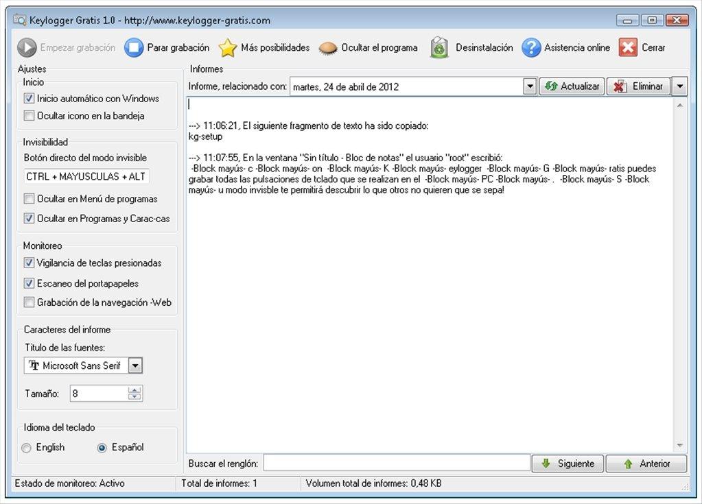 free  software keylogger douglas