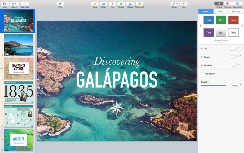 Keynote 9.0.2 - Télécharger pour Mac Gratuitement