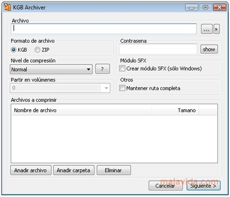 KGB Archiver 2 2 - Download for PC Free