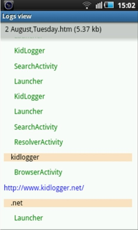 free download keylogger for android