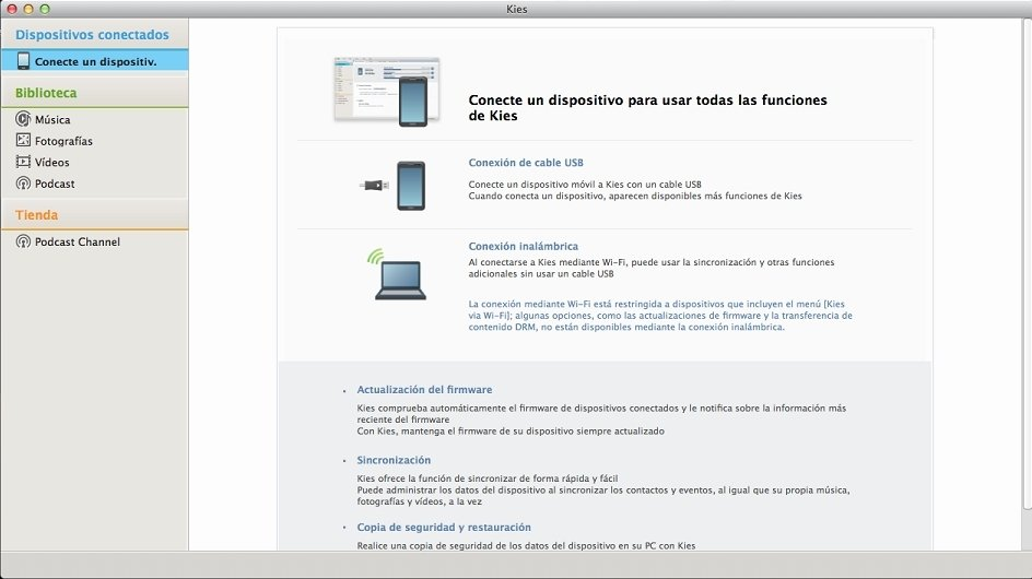 how to download samsung kies for mac
