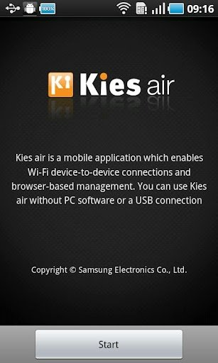 Kies air Android image 4