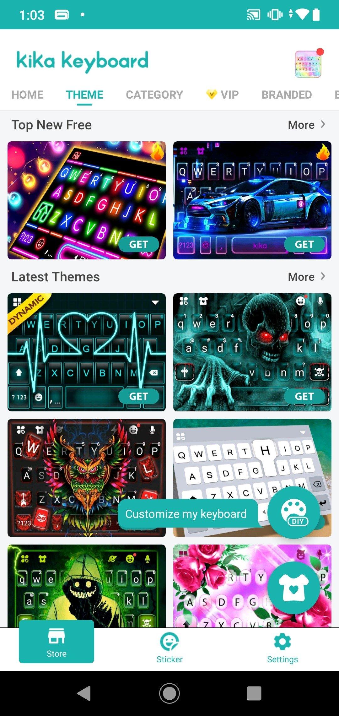 Kika Keyboard Android image 8