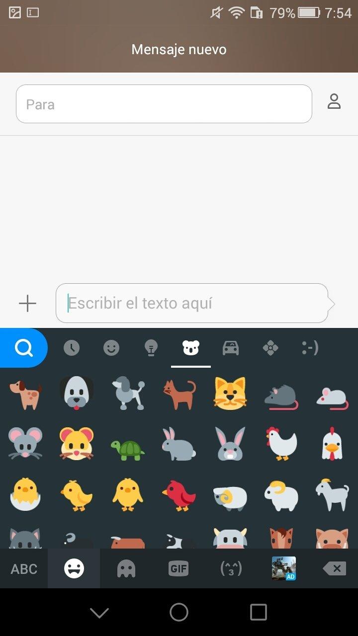 clavier kika emoji keyboard