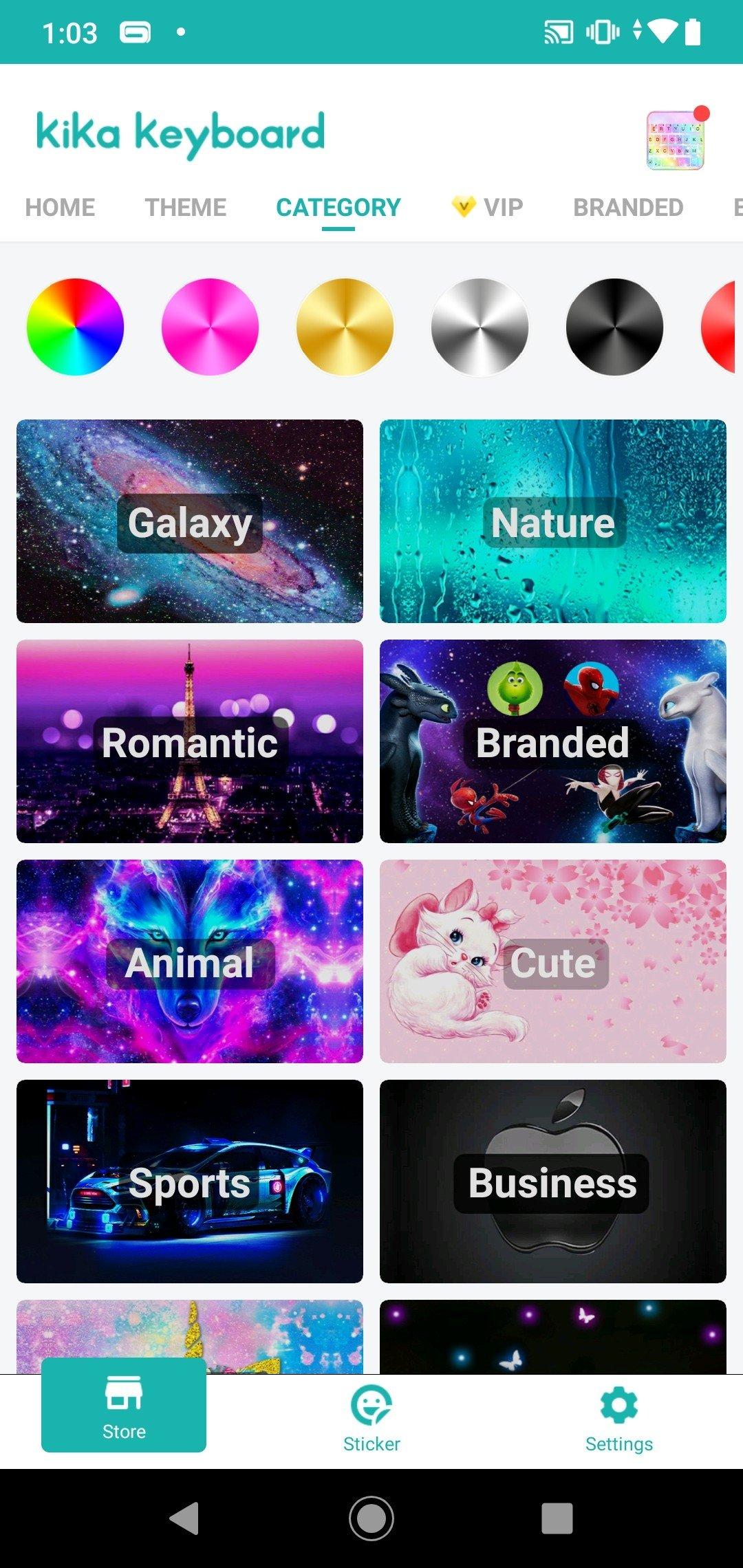 Kika Keyboard - Cool Fonts, Emoji, Emoticon, GIF 11 0 0