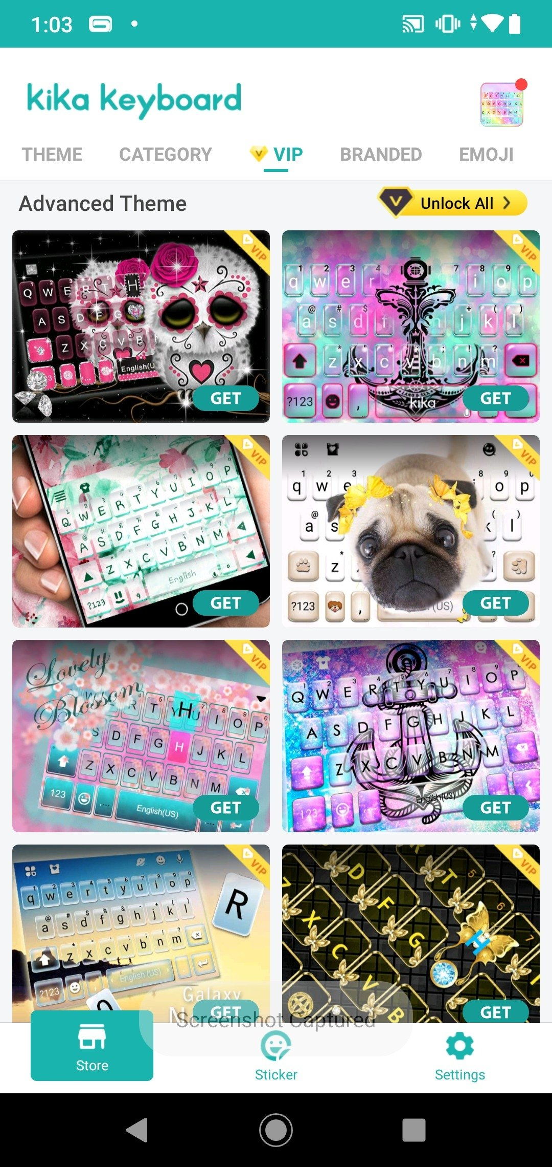 Imore emoji keyboard cool font, gif & 3d themes for android.