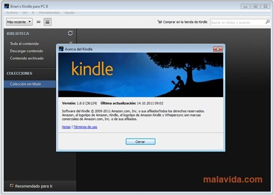 Kindle 1 19 46099 - Download for PC Free