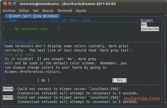 Kismet Linux image 5
