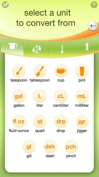 Kitchen Calculator iPhone image 2