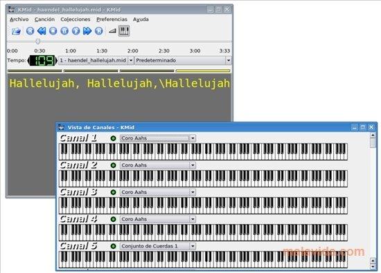 KMid Linux image 4