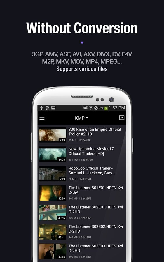 KMPlayer Android image 5