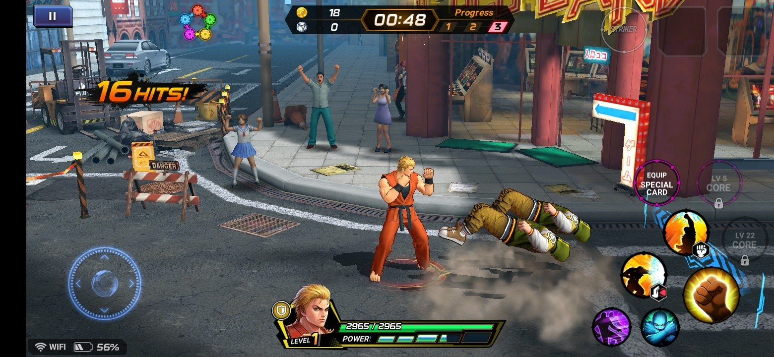 c6343bca2ba KOF ALLSTAR - The King of Fighters 1.3.1 - Baixar para Android APK ...