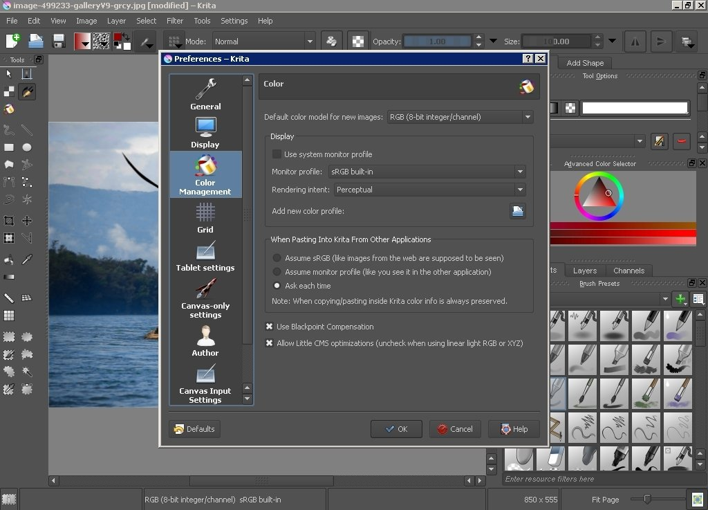 how to download krita windows 10