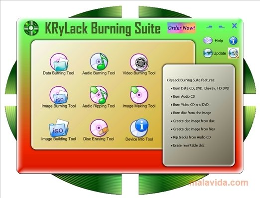 KRyLack Burning Suite image 5