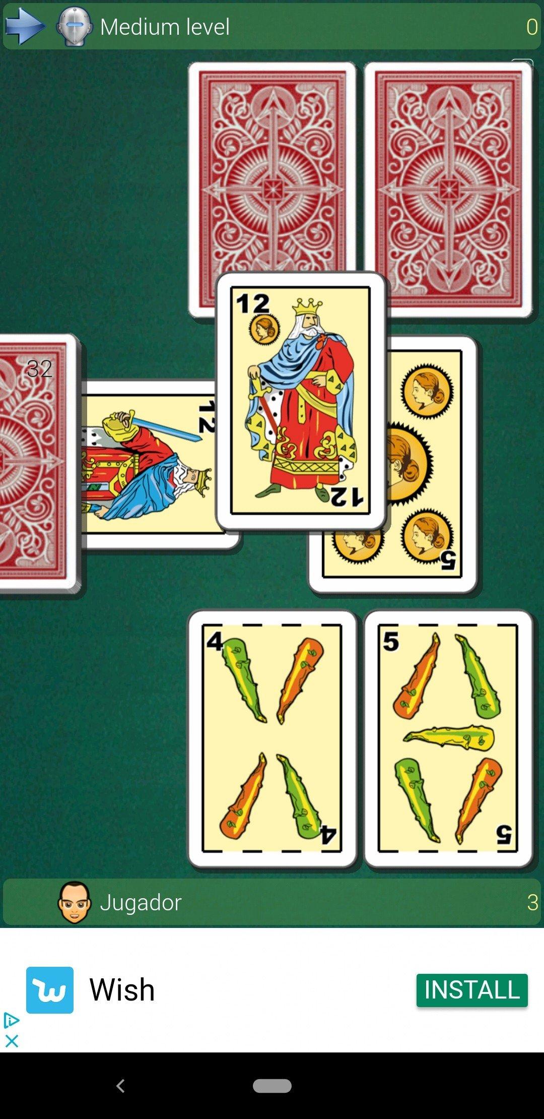 Scaricare gioco di carte briscola da