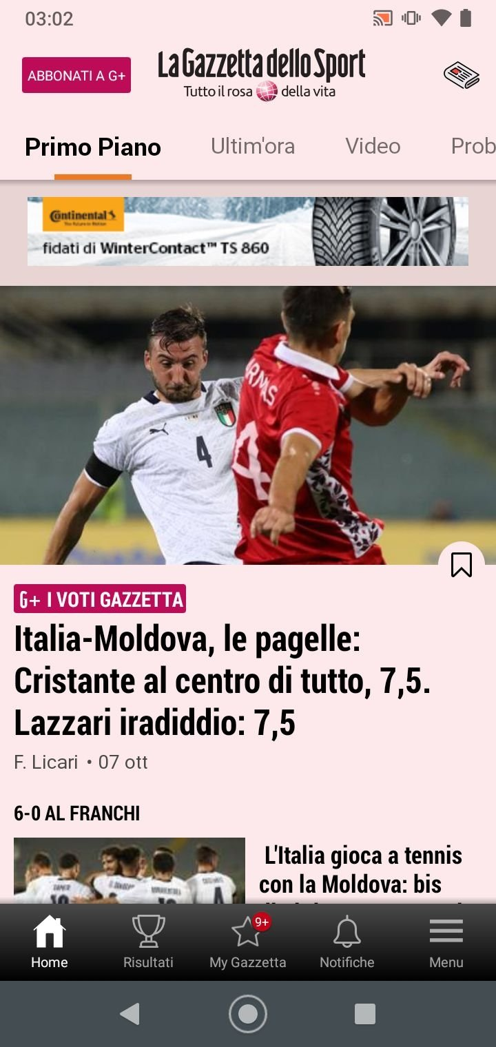 La Gazzetta Dello Sport 2 1 4 Download Per Android Apk Gratis