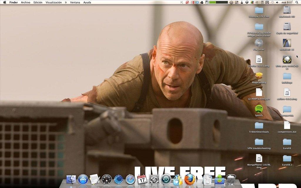Live Free or Die Hard Wallpaper Mac image 2