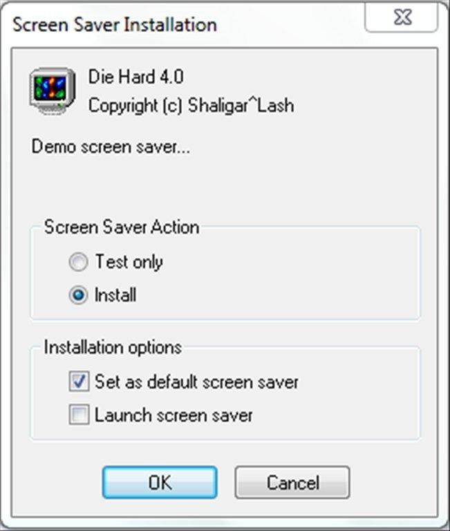 Live Free Or Die Hard ScreenSaver image 6