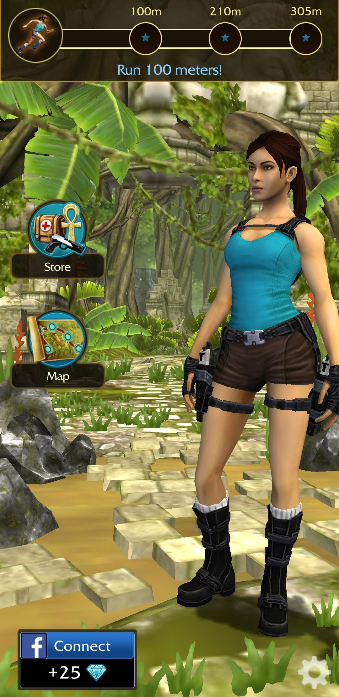 Lara croft: relic run for android download.