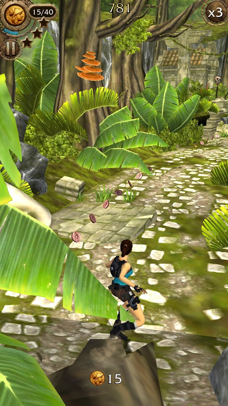 Lara Croft: Relic Run iPhone image 5