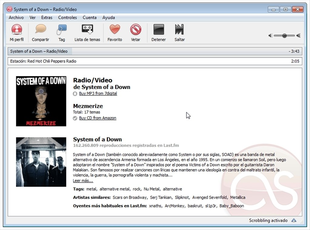 Last fm 3 1 29 - Download for PC Free