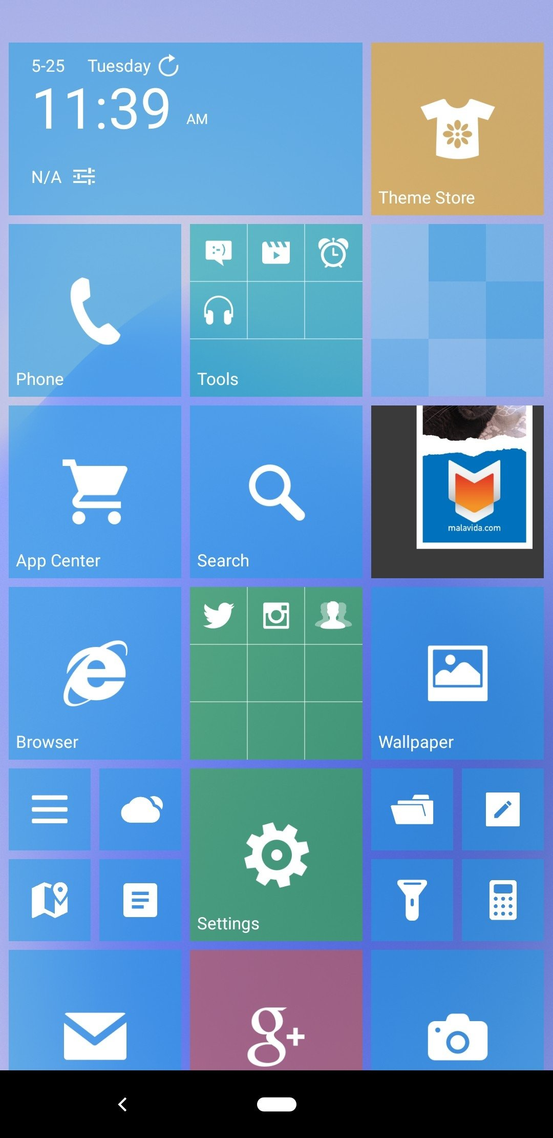 Launcher 8 Android image 4