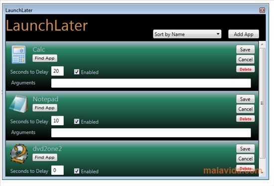 LaunchLater image 3