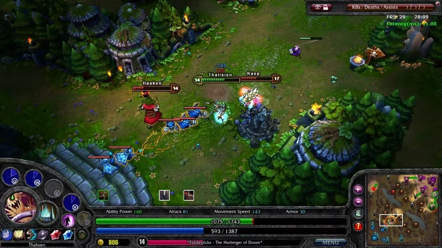 Download League of Legends - LOL 8.1 for PC - Free