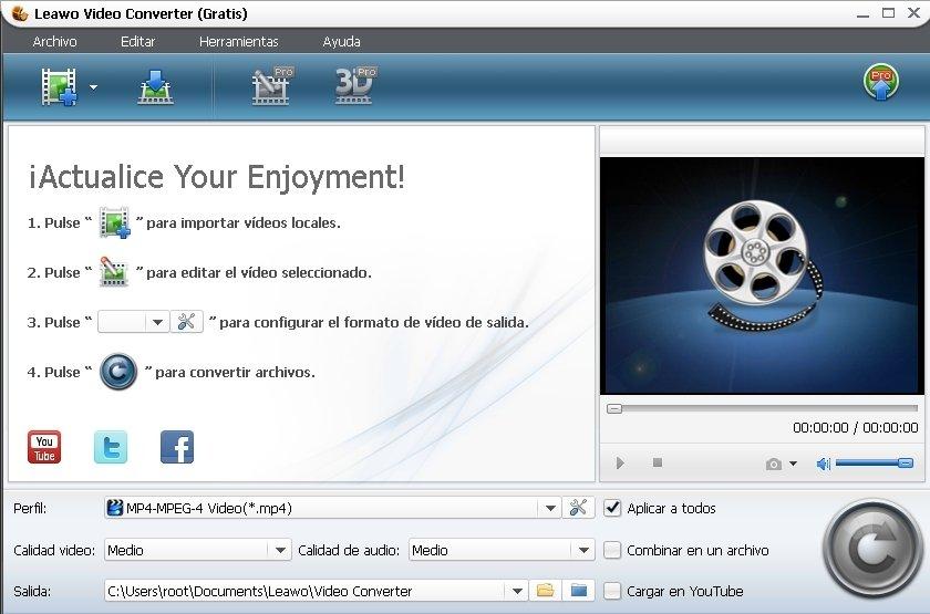 Leawo Video Converter image 5