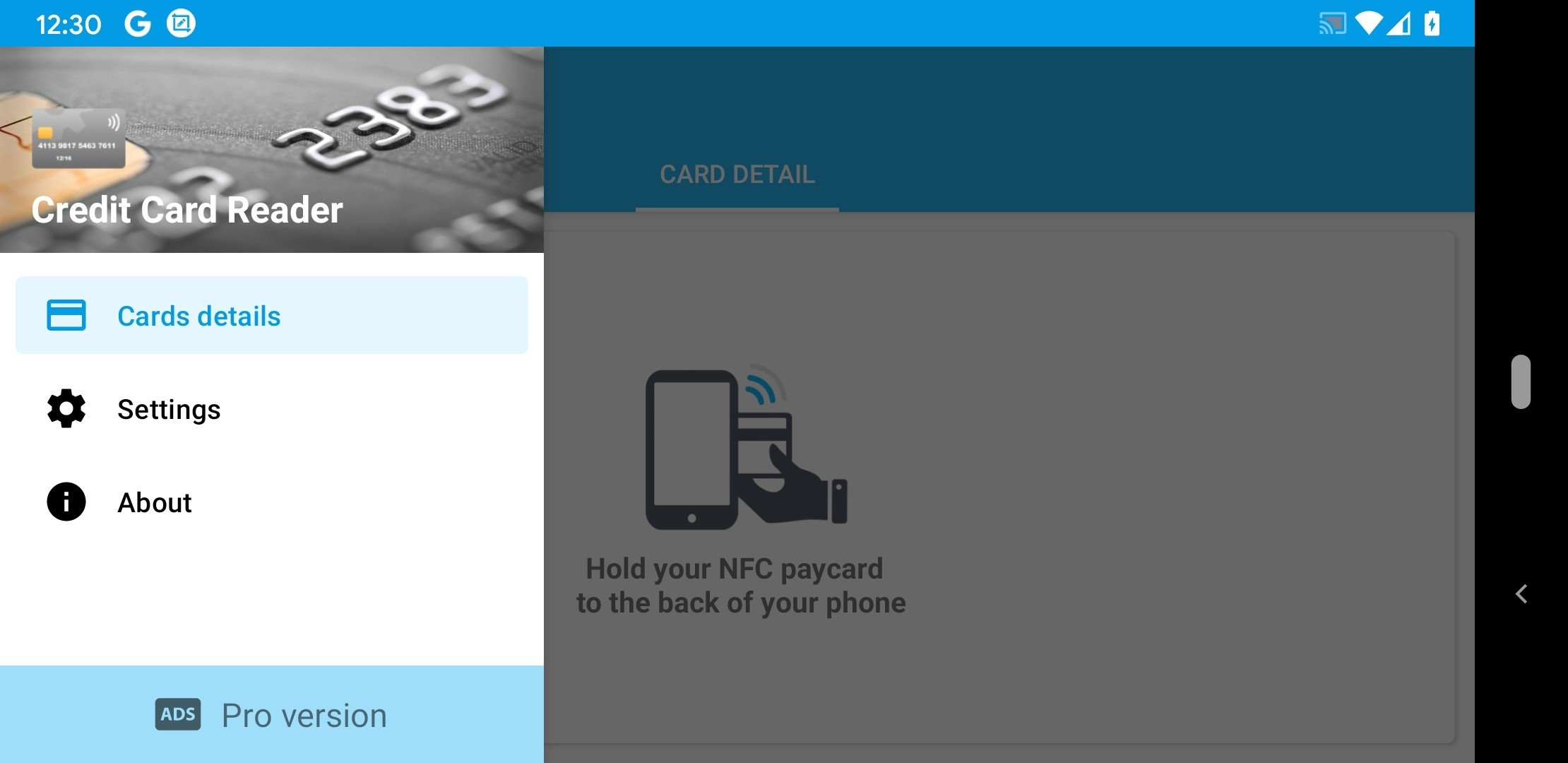 Banking Card Reader Android image 3