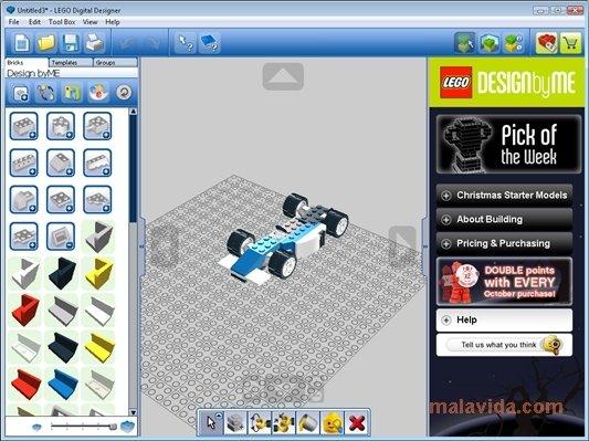Descargar LEGO Digital Designer 4.3.8 Para PC
