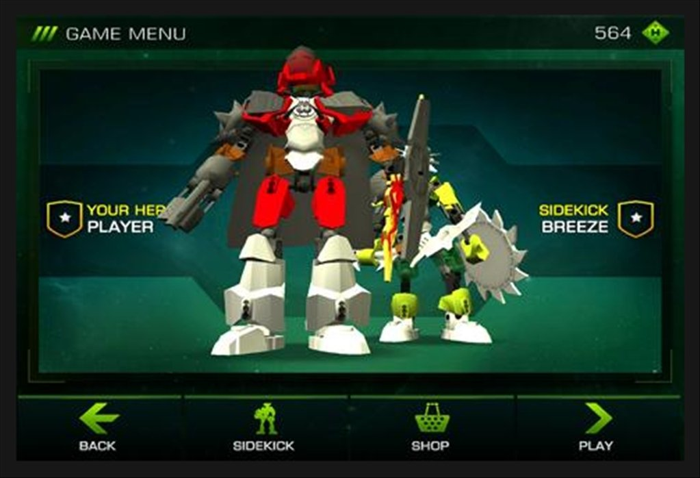 Lego Hero Factory Brain Attack 15025 Download For Android Apk Free