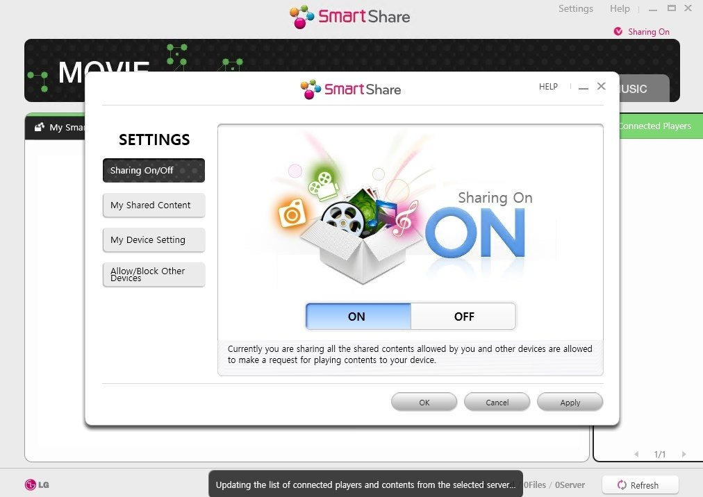 LG SmartShare 2.3.1712.1201 - Download for PC Free