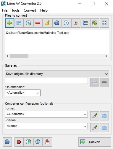 Libre AV Converter image 3