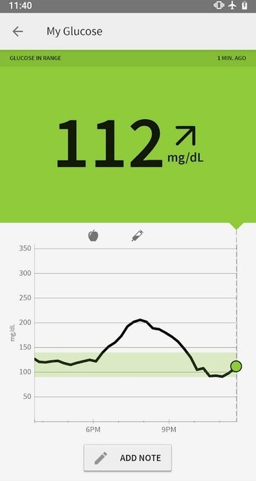Free Blood Glucose Meter >> LibreLink 1.4.1 - Download for Android APK Free