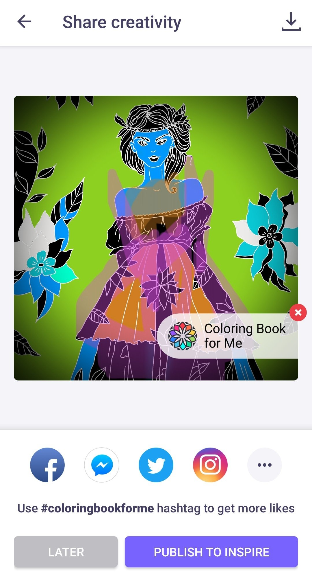 Coloring Book For Me Image 12 Thumbnail