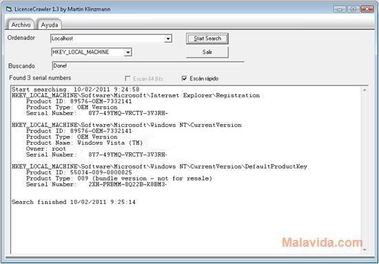 LicenseCrawler image 3