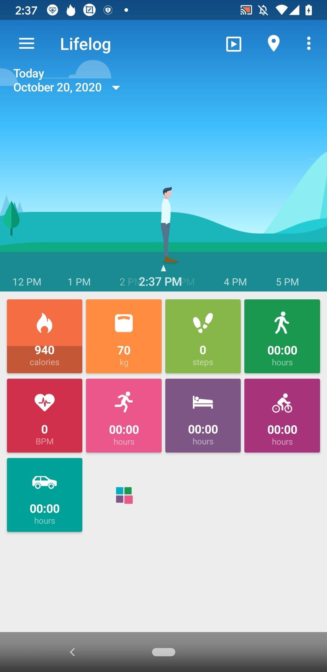 Lifelog Android image 2